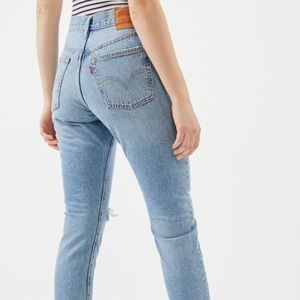 Levi's 501 skinny jeans (NEW WITH TAGS)
